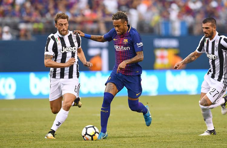 Neymar interesó a la Juventus.