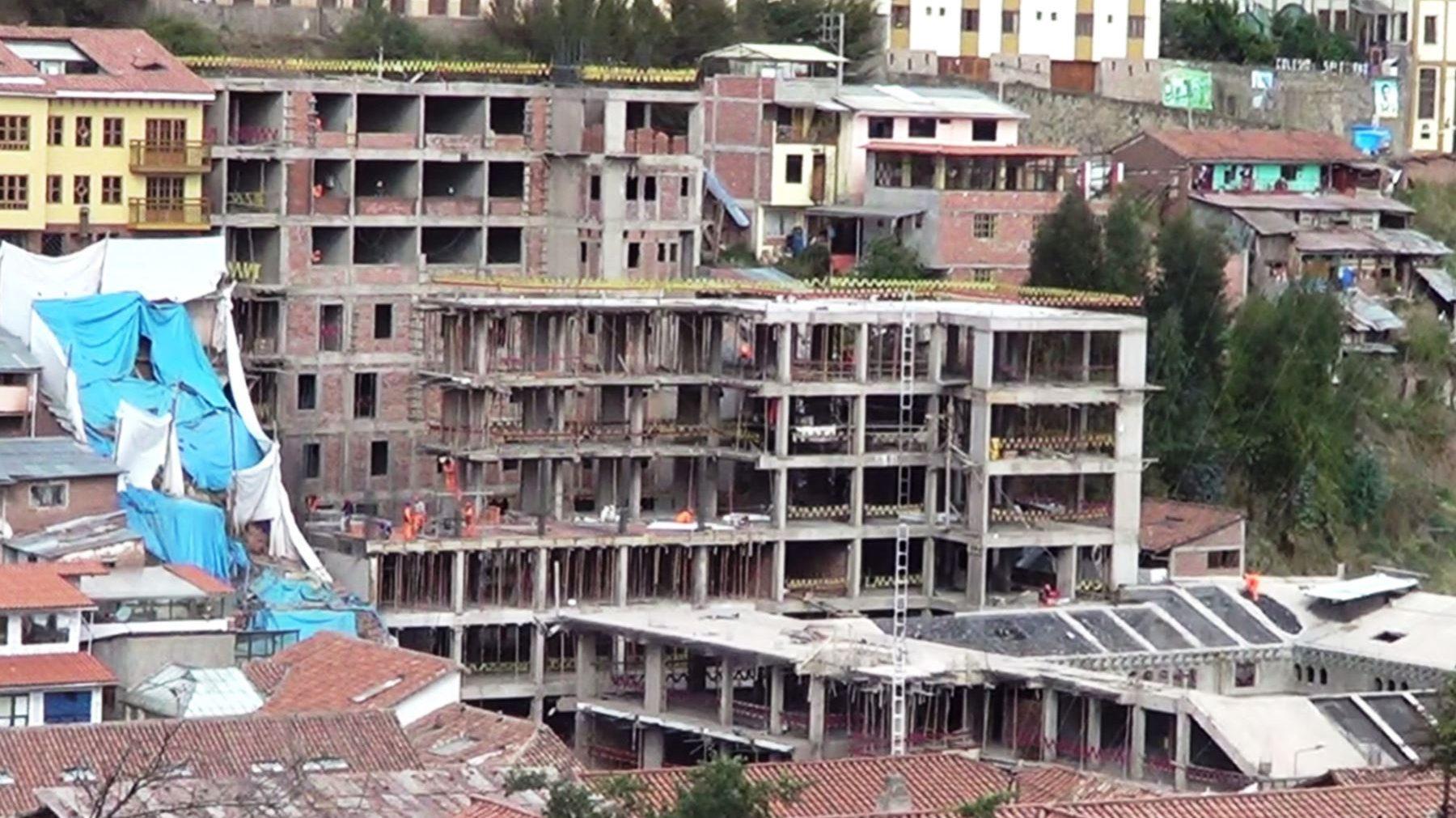 Poder Judicial ordena demolición del hotel Sheraton de Cusco por daños a muros incas prehispánicos
