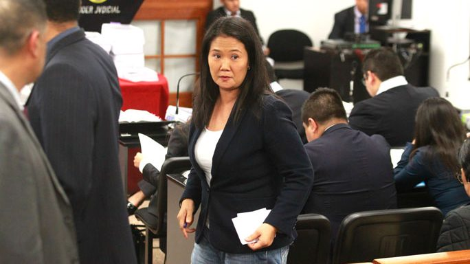 Keiko Fujimori internada por problemas al corazón