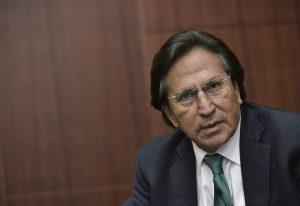 Juez estadounidense se inclina a la decisión de mantener a Alejandro Toledo en prisión