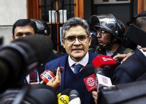 José Domingo Pérez tomará declaración de Keiko Fujimori este lunes