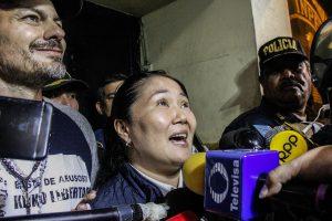 Keiko Fujimori: Fiscalía solicita prisión preventiva por 36 meses