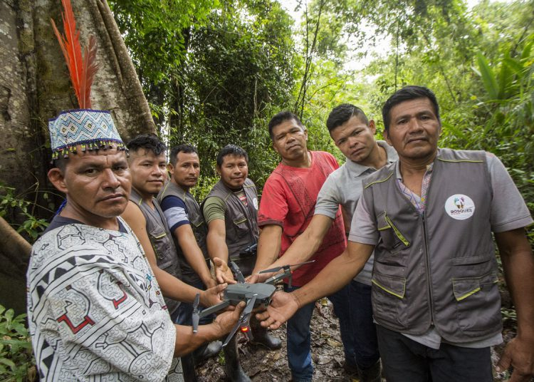 ONU reconoció a Nativos de Nuevo Saposoa  por su lucha ante el cambio climático