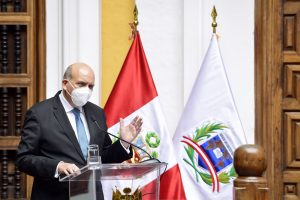 """Canciller Mario López sobre rechazo de vacancia: """"Ha primado la sensatez y responsabilidad"""""""