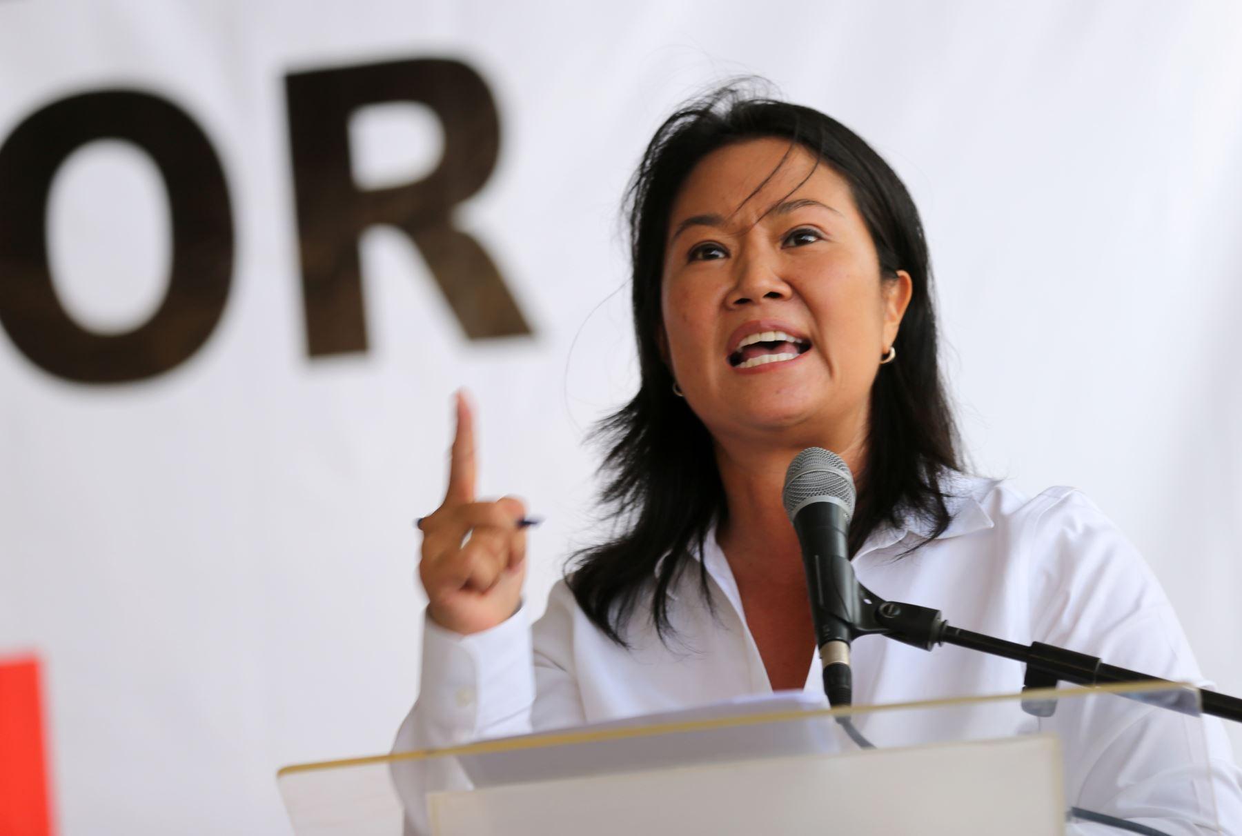 Fuerza Popular: Keiko Fujimori se lanza como precandidata - Caretas Política