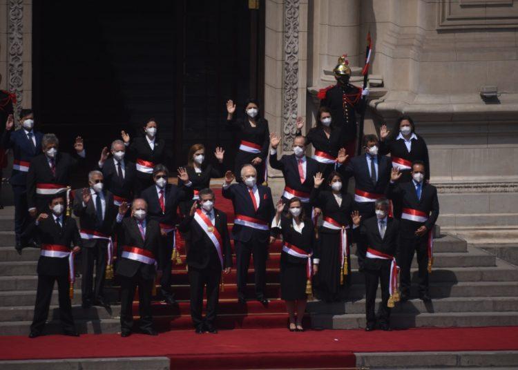 Manuel Merino juramentó a los nuevos ministros de Estado | VIDEO