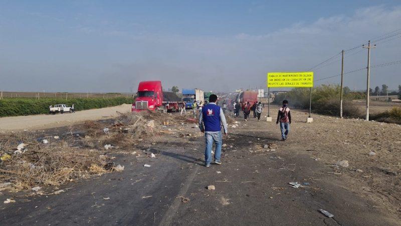 Protestas en Ica: claves sobre la movilización de trabajadores agroindustriales - Caretas Nacional