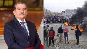 La CNDDHH exige la renuncia inmediata del ministro del Interior Aliaga