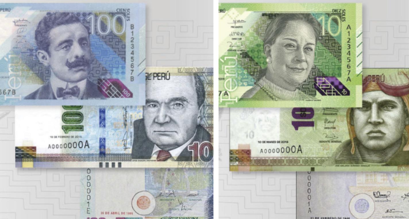 Chabuca Granda y Pedro Paulet: así son los nuevos billetes de S/ 10 y S/ 100  - Caretas Nacional