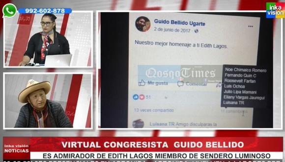 Guido Bellido tiene una investigación abierta por apología al terrorismo -  Caretas Política