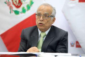 Aníbal Torres: Se interpondrá acción de inconstitucionalidad por ley que interpreta cuestión de confianza