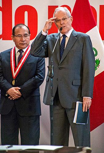 Durante la firma del Acuerdo por la Justicia coincidió con presidente de PJ, Víctor Ti