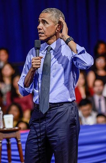 """""""EE.UU. es un país indispensable en el orden mundial"""", recomendó Obama a T"""
