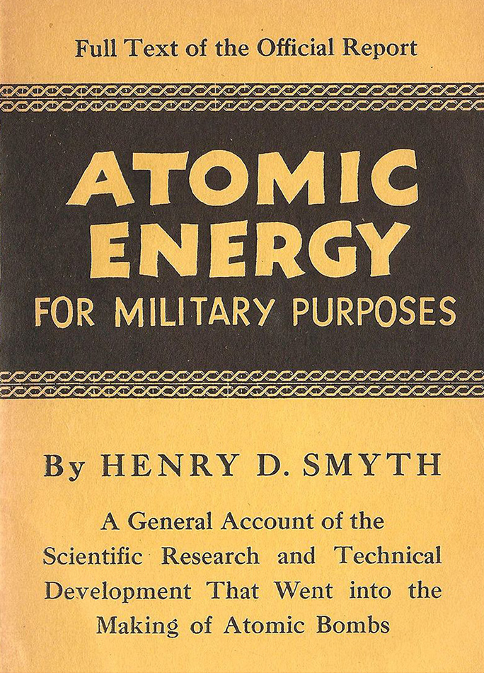 Cubierta del libro de Smyth de 1945