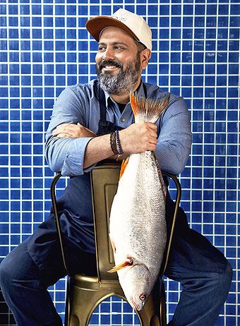 Renato Peralta, chef corporativo del grupo Civitano