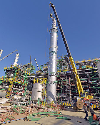 Las obras de la refinería de Talara están semiparalizadas