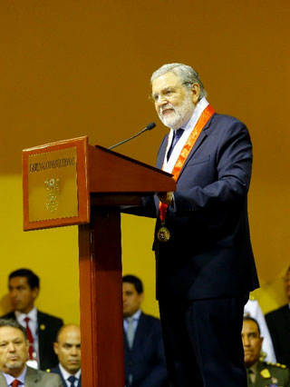 Ernesto Blume hizo una solicitud especial al presidente Vizcarra