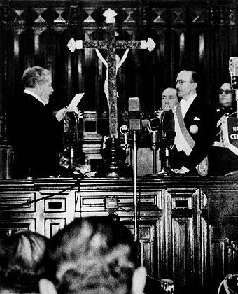 José Gálvez fue vicepresidente, presidente del Senado y senador