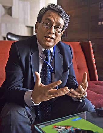 Director de Salud Mental del Minsa, médico psiquiatra Yuri Cutipé