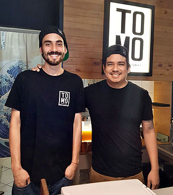 Jeremy López y Francisco Sime, itamaes y socios del flamante TOMO